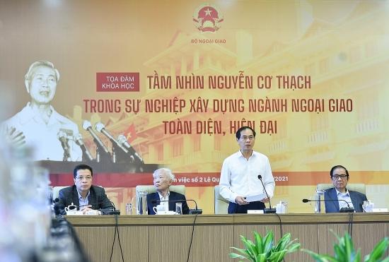 Tầm nhìn Nguyễn Cơ Thạch trong sự nghiệp xây dựng ngành ngoại giao toàn diện, hiện đại