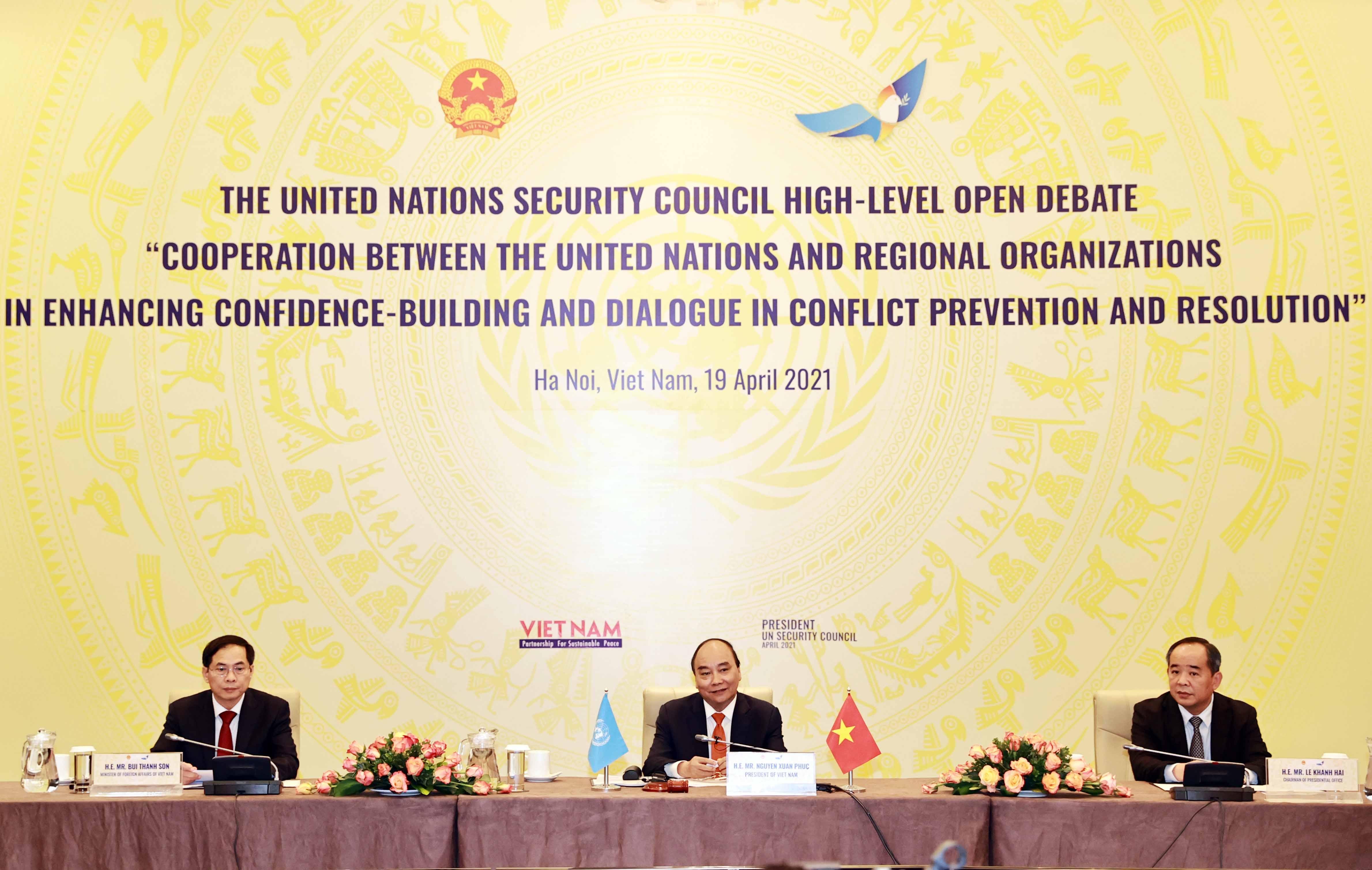 Lòng tin và đối thoại chính là giải pháp căn cơ cho một nền hòa bình bền vững