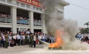 Huyện Phúc Thọ tăng cường công tác phòng cháy chữa cháy