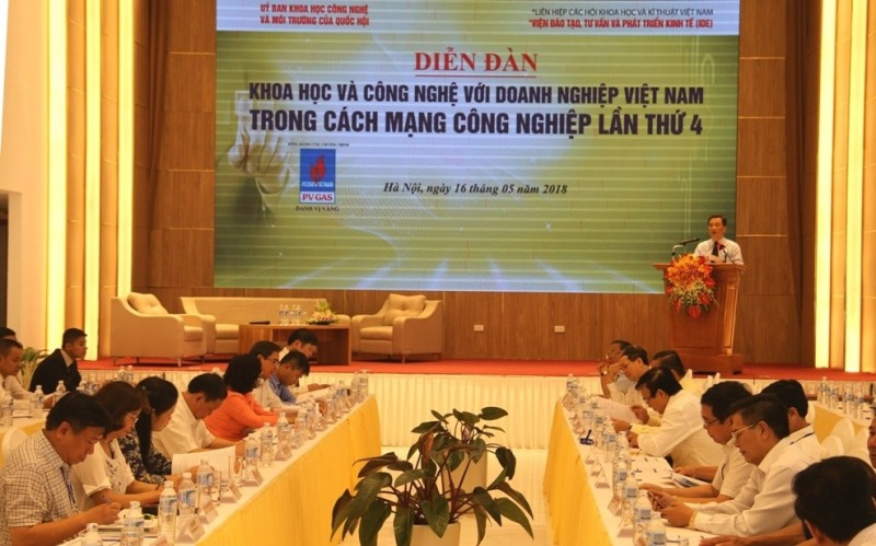 Khoa học và công nghệ với doanh nghiệp Việt Nam trong cuộc cách mạng 4.0