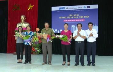 Ra mắt CLB Nhà trọ an toàn, thân thiện cho lao động nhập cư