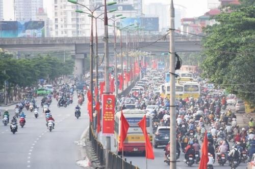 Hà Nội: Chất lượng không khí có diễn biến trái chiều