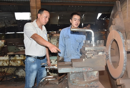Anh Hoàng Văn Hợp: Sáng tạo, cải tiến máy móc chính là một niềm đam mê