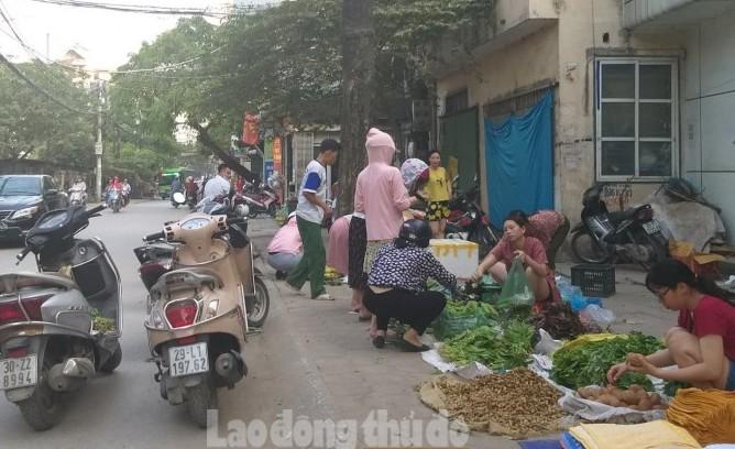 Chợ cóc và bài toán mỹ quan đô thị