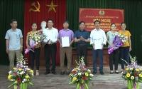 LĐLĐ huyện Phúc Thọ thành lập mới 2 Công đoàn cơ sở