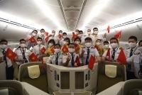 Chuyến bay thẳng đầu tiên của Vietnam Airlines đưa hơn 340 công dân Việt từ Mỹ hồi hương