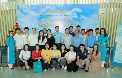 Khai trương đường bay Thanh Hóa – Buôn Ma Thuột