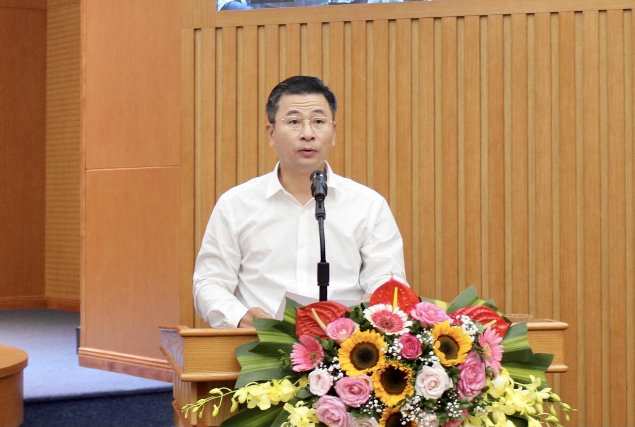 Ứng cử viên đại biểu Quốc hội khóa XV tiếp xúc cử tri quận Thanh Xuân