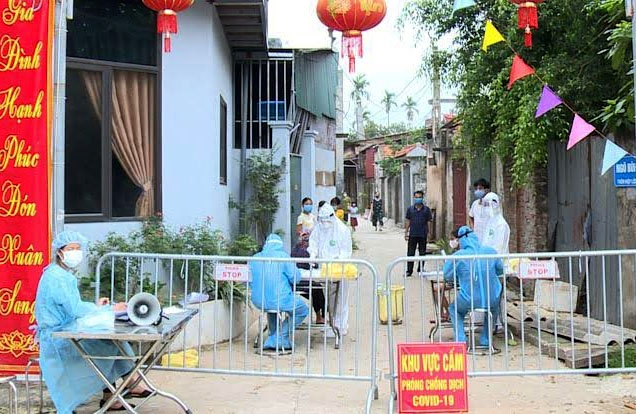 Hà Nội: Cách ly y tế xã Hiệp Thuận, huyện Phúc Thọ từ ngày 10/5