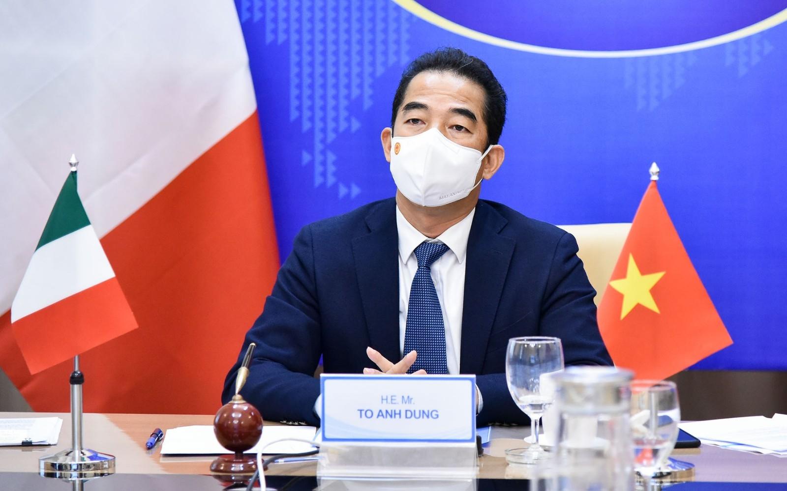 Tham vấn chính trị cấp Thứ trưởng Ngoại giao Việt Nam - Italia lần thứ 3