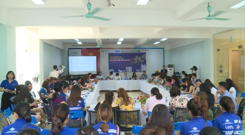 Đối thoại việc làm bền vững cho phụ nữ nhập cư tại Hà Nội