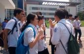 Thầy giáo tại điểm thi trường THPT Vân Nội là người làm lọt đề thi ra ngoài
