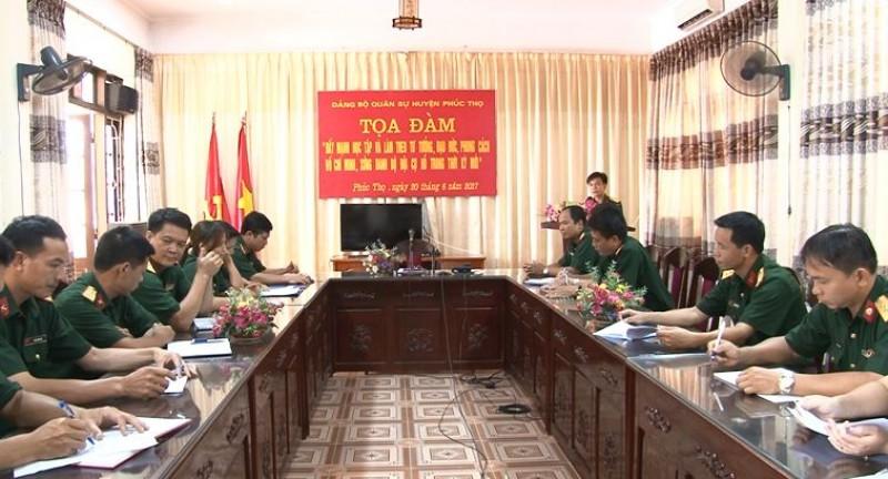 Đẩy mạnh học tập và làm theo tư tưởng, đạo đức Hồ Chí Minh