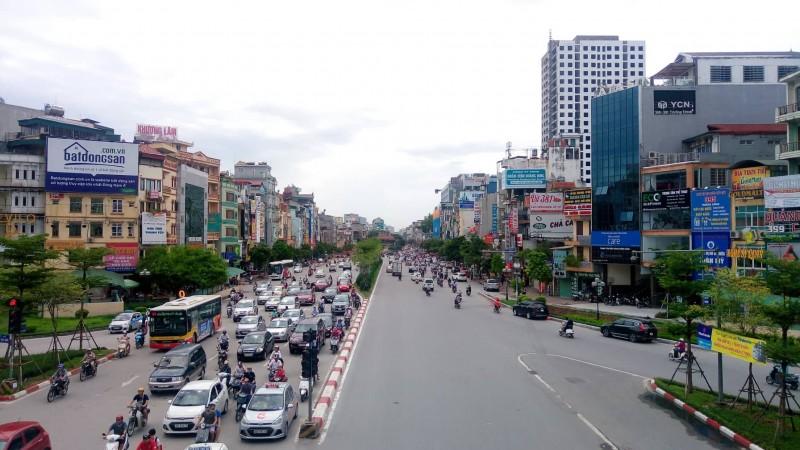 Chất lượng không khí khu vực Kim Liên, Tân Mai ở mức tốt