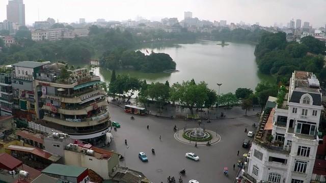 Chất lượng không khí Thủ đô đang duy trì ở mức trung bình