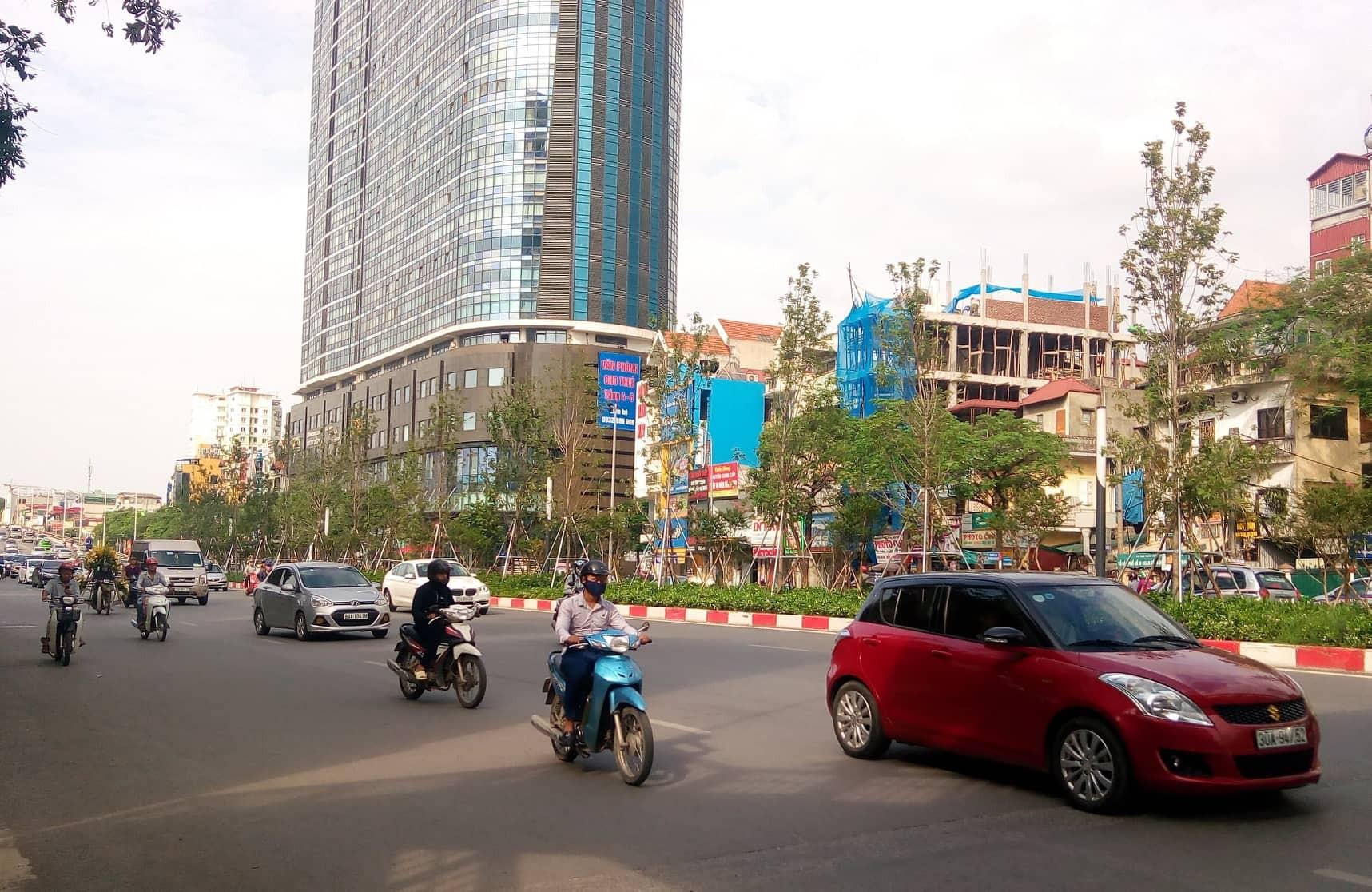Hà Nội: Chất lượng không khí nhiều khu vực ở mức trung bình