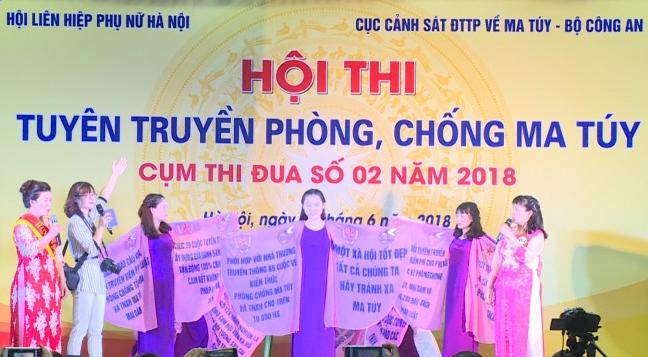 Sôi nổi Hội thi tuyên truyền phòng, chống ma túy năm 2018