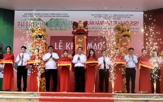 Hà Nội: Gần 150 gian hàng tham gia Tuần hàng Việt năm 2020
