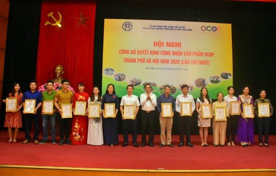 Hà Nội công bố 275 sản phẩm OCOP