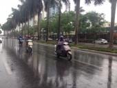Trời mưa giúp 7/10 khu vực có chất lượng không khí tốt