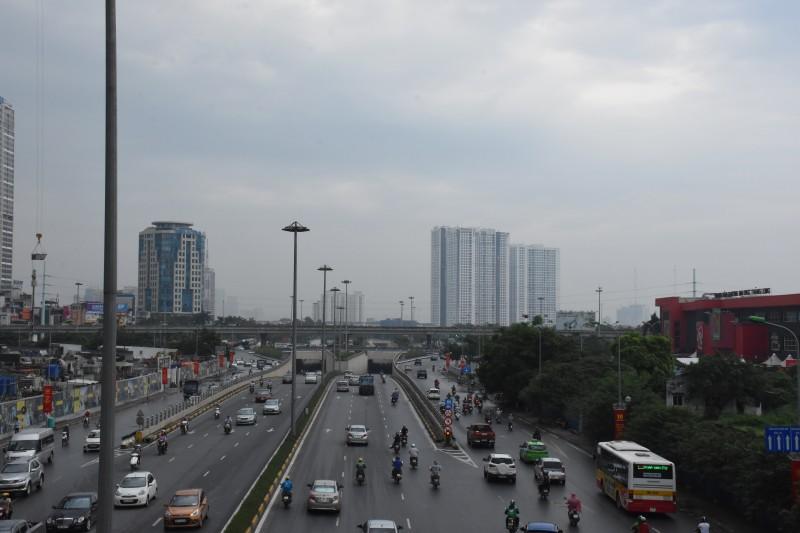 Trời mưa giúp nhiều khu vực tiếp tục duy trì chất lượng không khí ở mức tốt