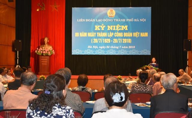 Kỷ niệm 89 năm Ngày Công đoàn Việt Nam
