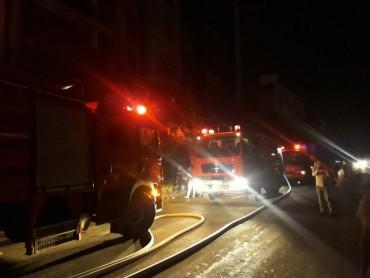 Cháy quán massage 5 tầng khiến hàng trăm người hoảng loạn