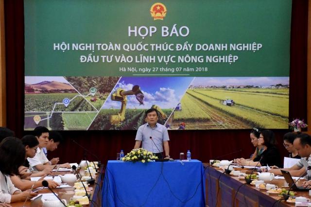 Thúc đẩy doanh nghiệp đầu tư vào lĩnh vực nông nghiệp
