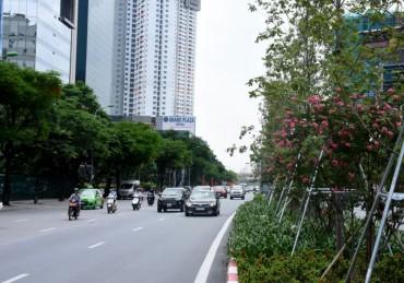 Chất lượng không khí tại nhiều khu vực của Thủ đô tiếp tục duy trì ở mức tốt