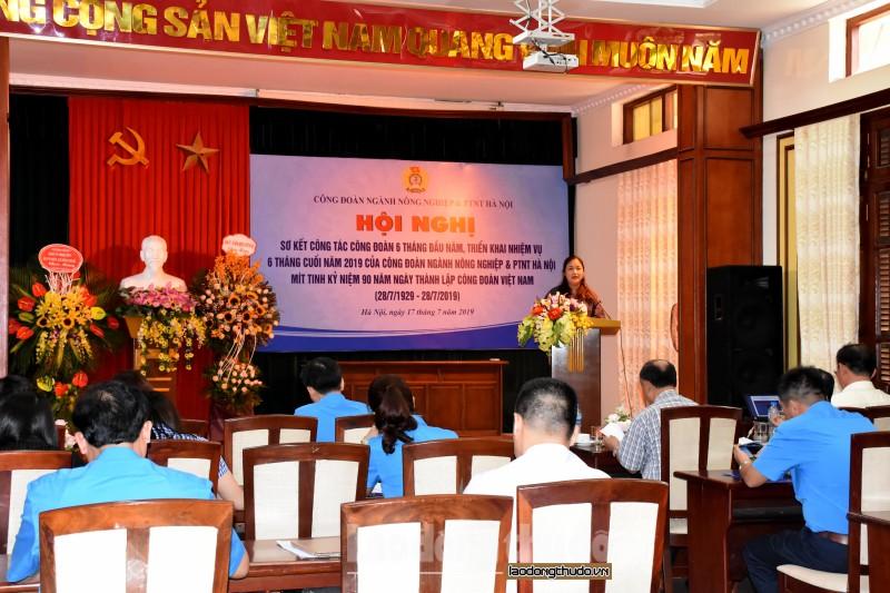 Công đoàn ngành Nông nghiệp và PTNT Hà Nội: Triển khai hiệu quả hoạt động chăm lo cho người lao động