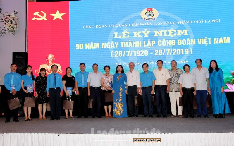 Công đoàn cơ quan LĐLĐ TP Hà Nội: Kỷ niệm 90 năm Ngày thành lập Công đoàn Việt Nam