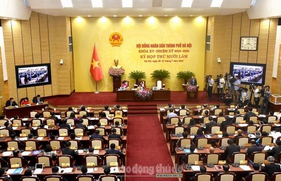 Khai mạc Kỳ họp thứ 15, Hội đồng nhân dân thành phố Hà Nội khóa XV