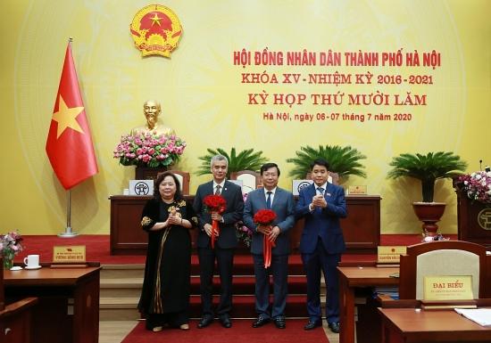 Hà Nội: Bầu bổ sung 2 đồng chí vào Ủy viên Ủy ban nhân dân Thành phố nhiệm kỳ 2016-2021