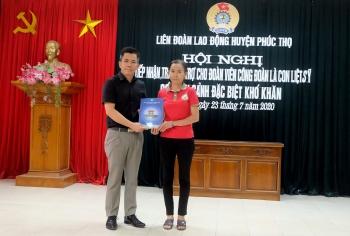 Hiện thực hóa giấc mơ an cư của đoàn viên công đoàn Nguyễn Thị Thư