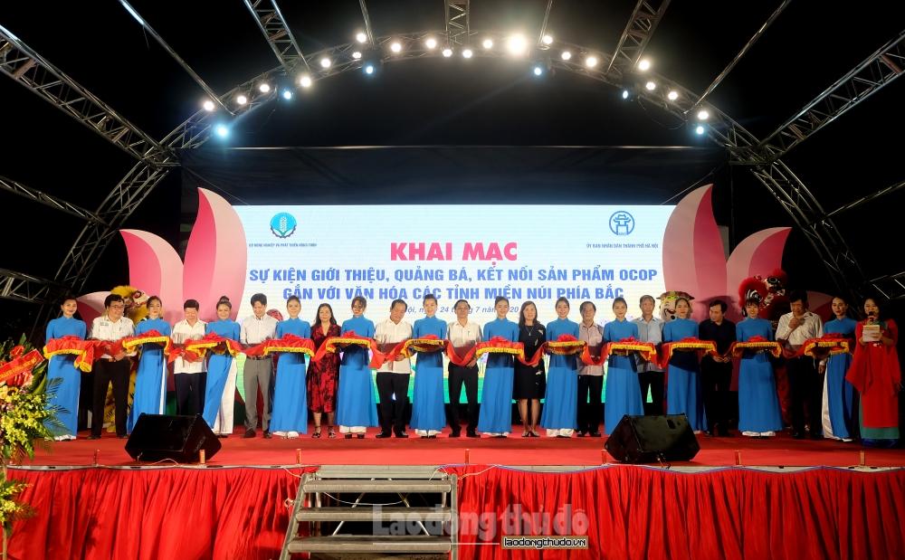 550 sản phẩm OCOP hội tụ tại Thủ đô Hà Nội