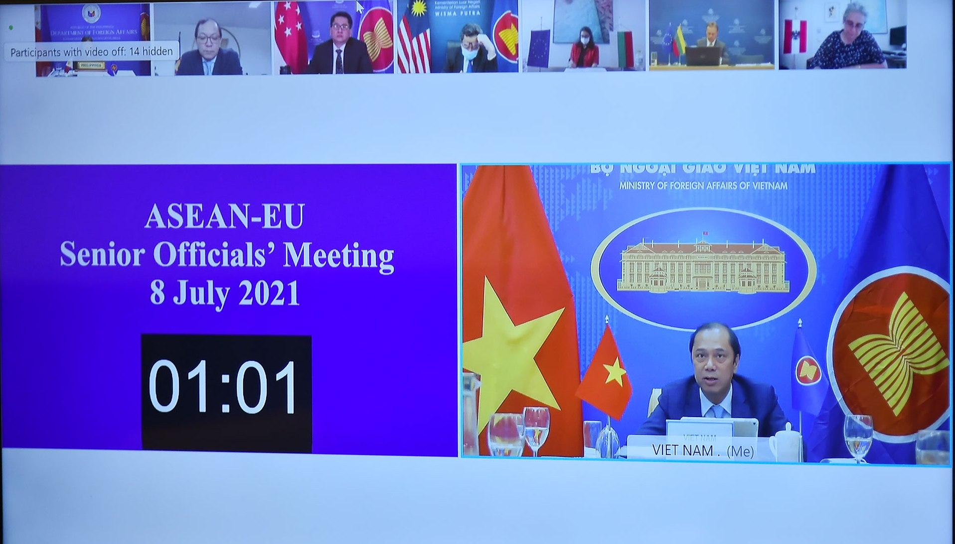 ASEAN-EU: Tăng cường phối hợp và hợp tác đa phương