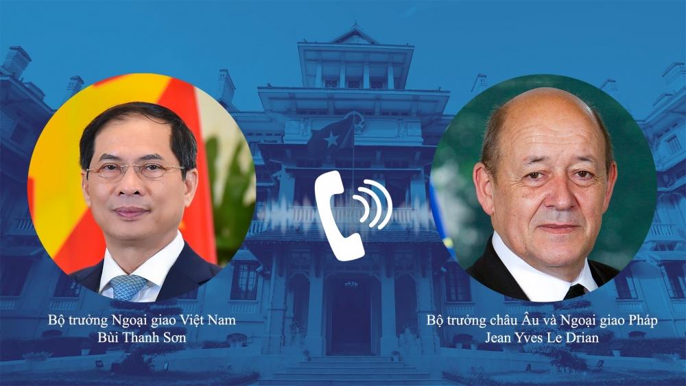 Pháp sẽ thúc đẩy việc cung cấp vắc xin cho Việt Nam với số lượng nhiều nhất
