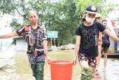 Đảm bảo nhu cầu nước sạch cho người dân vùng lũ Chương Mỹ