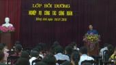 LĐLĐ huyện Đông Anh tổ chức lớp tập huấn nghiệp vụ công đoàn năm 2018