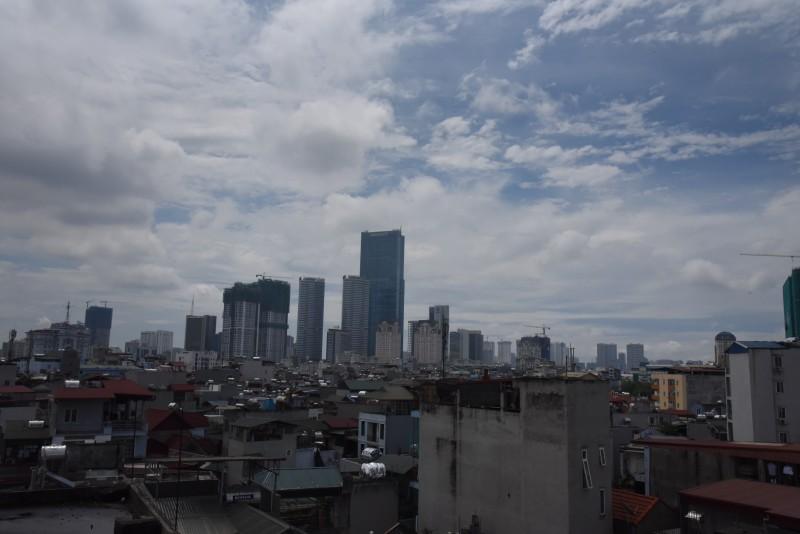 Chất lượng không khí ở mức trung bình trong ngày Hà Nội trở lạnh