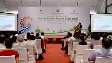 Ứng dụng khoa học công nghệ trong phát triển nông nghiệp thông minh bền vững