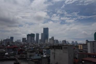 Hà Nội: AQI tại điểm quan trắc chất lượng không khí khu vực dân cư ở mức tốt