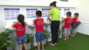 Đông Anh phát động phong trào rửa tay sạch, phòng chống dịch bệnh năm 2018