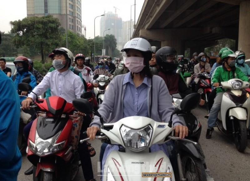Nhiều khu vực giao thông liên tiếp có chất lượng không khí kém