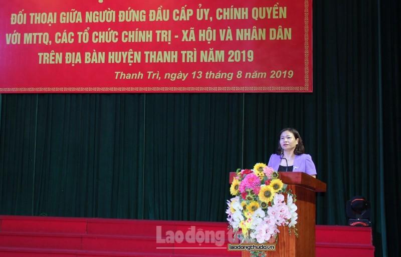 doi thoai giua nguoi dung dau cap uy chinh quyen voi nhan dan nam 2019