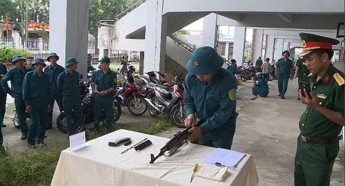 Hơn 800 cán bộ, chiến sỹ tham gia Hội thao Quốc phòng lực lượng dân quân tự vệ