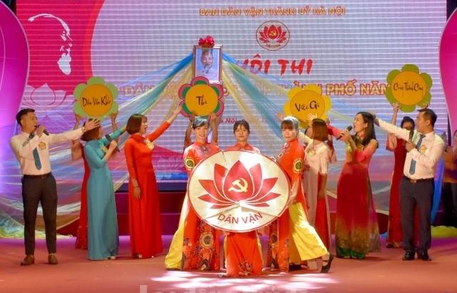Đẩy mạnh tuyên truyền kỷ niệm 90 năm ngày truyền thống công tác dân vận của Đảng