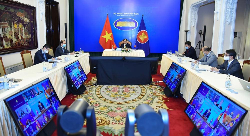ASEAN - Hoa Kỳ: Tiếp tục phối hợp chặt chẽ để duy trì hòa bình, an ninh, ổn định ở khu vực