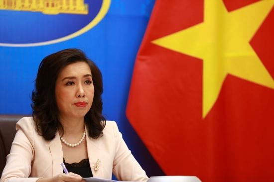 Việt Nam yêu cầu Trung Quốc chấm dứt việc tập trận ở khu vực quần đảo Hoàng Sa