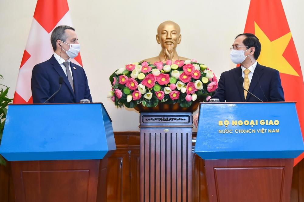 Việt Nam - Thụy Sỹ: Tăng cường hợp tác trong lĩnh vực lĩnh vực giáo dục, khoa học công nghệ